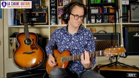 Guitare Alquier Hollow - Pédales Dophix - Replay live 06/13/19