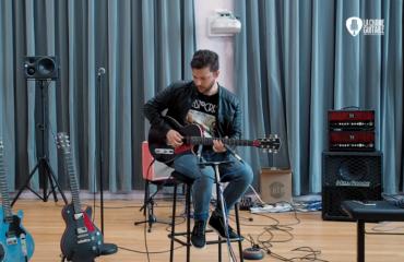 Puteaux 2019 - Guitares CTL / Ampli Little Big Amp / Pédales Ministry of Tones - Musicien : Saturax