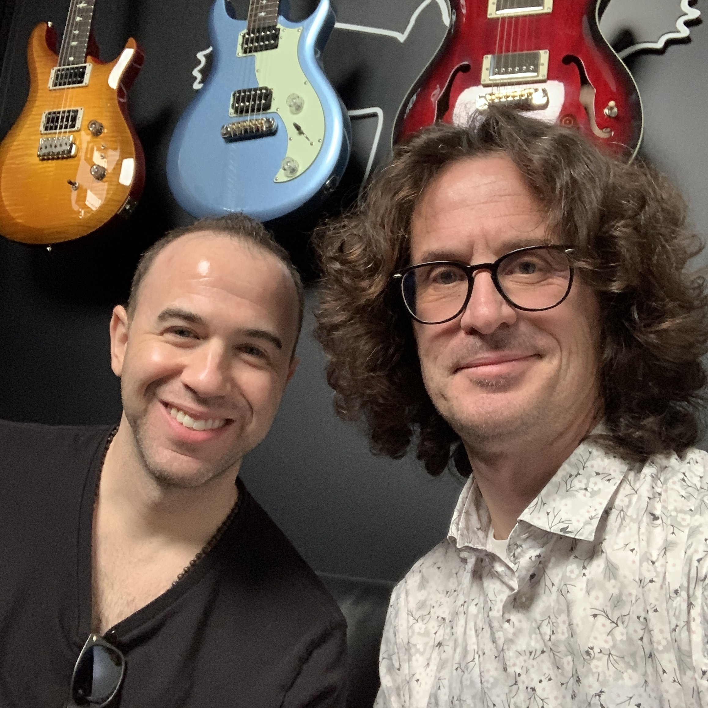 Interview guitare Silver Sky à la main Dave Weiner sur le stand PRS - NAMM 2020
