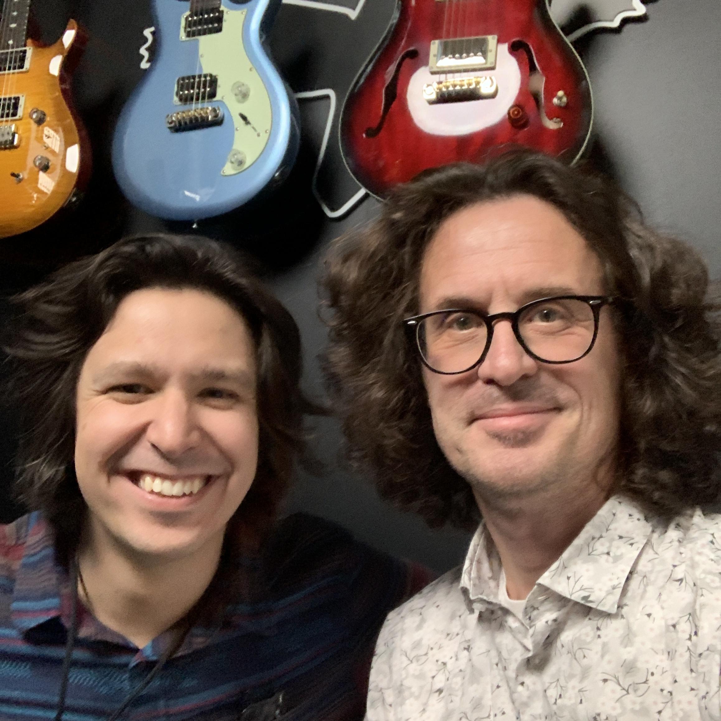 Interview guitare PRS Silver Sky à la main avec Davy Knowles lors du NAMM 2020