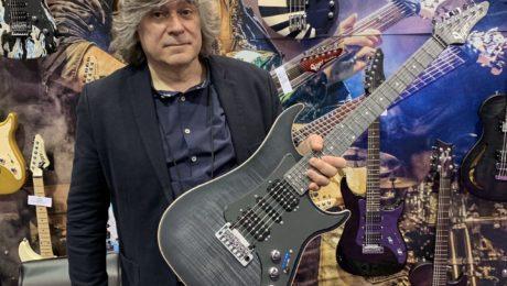 Interview Patrice Vigier au NAMM 2020 : 40 ans des guitares Vigier !