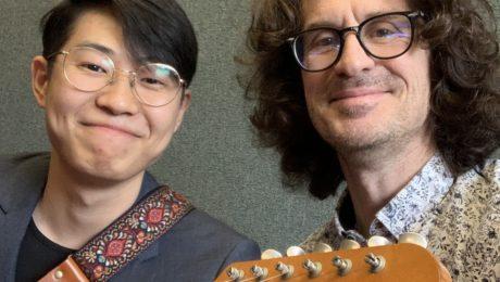 Joseph Yun, interview guitare à la main au Musicians Institute Hollywood