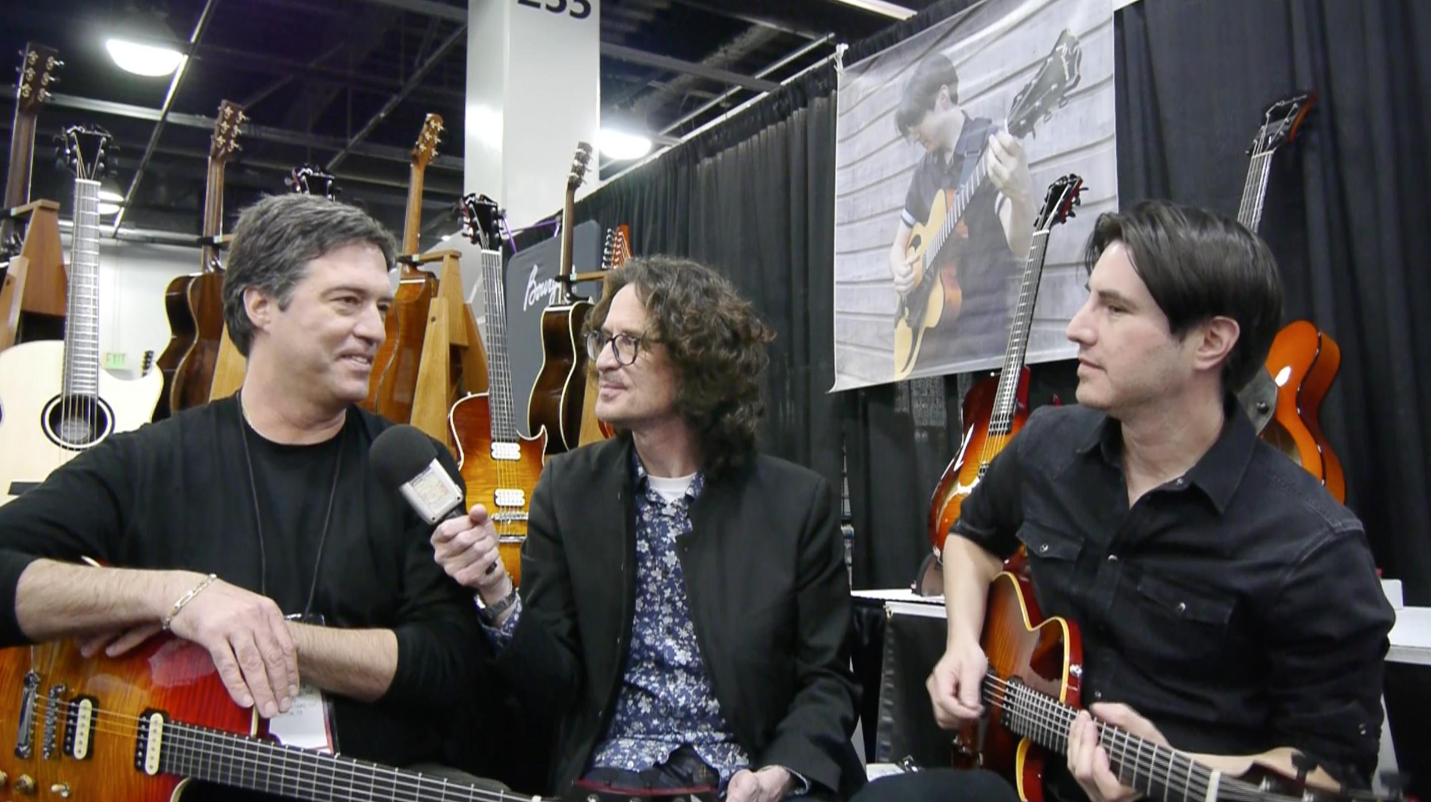 Interview Mike Moreno et Stephen Marchione, un musicien et son luthier au NAMM 2020
