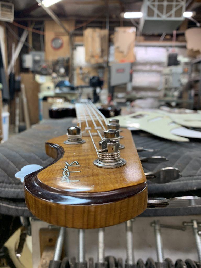 Shabat Guitars, sélection des bois pour la guitare électrique