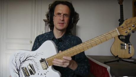 Test Guitare - Origin Tattoo du luthier Tony Girault