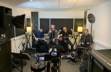 Interview du groupe Soho Riot fondé par François Delacoudre au Studio Luna Rossa