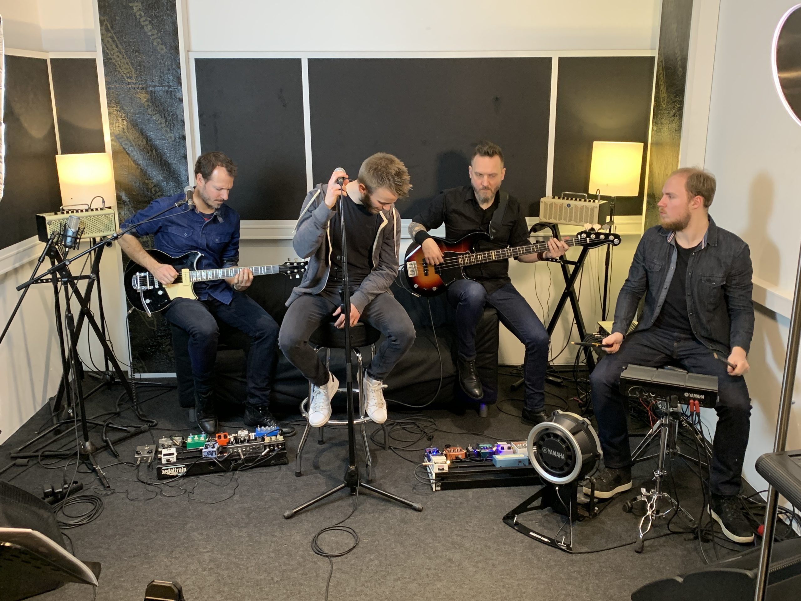 Soho Riot - Sessions au Studio Luna Rossa