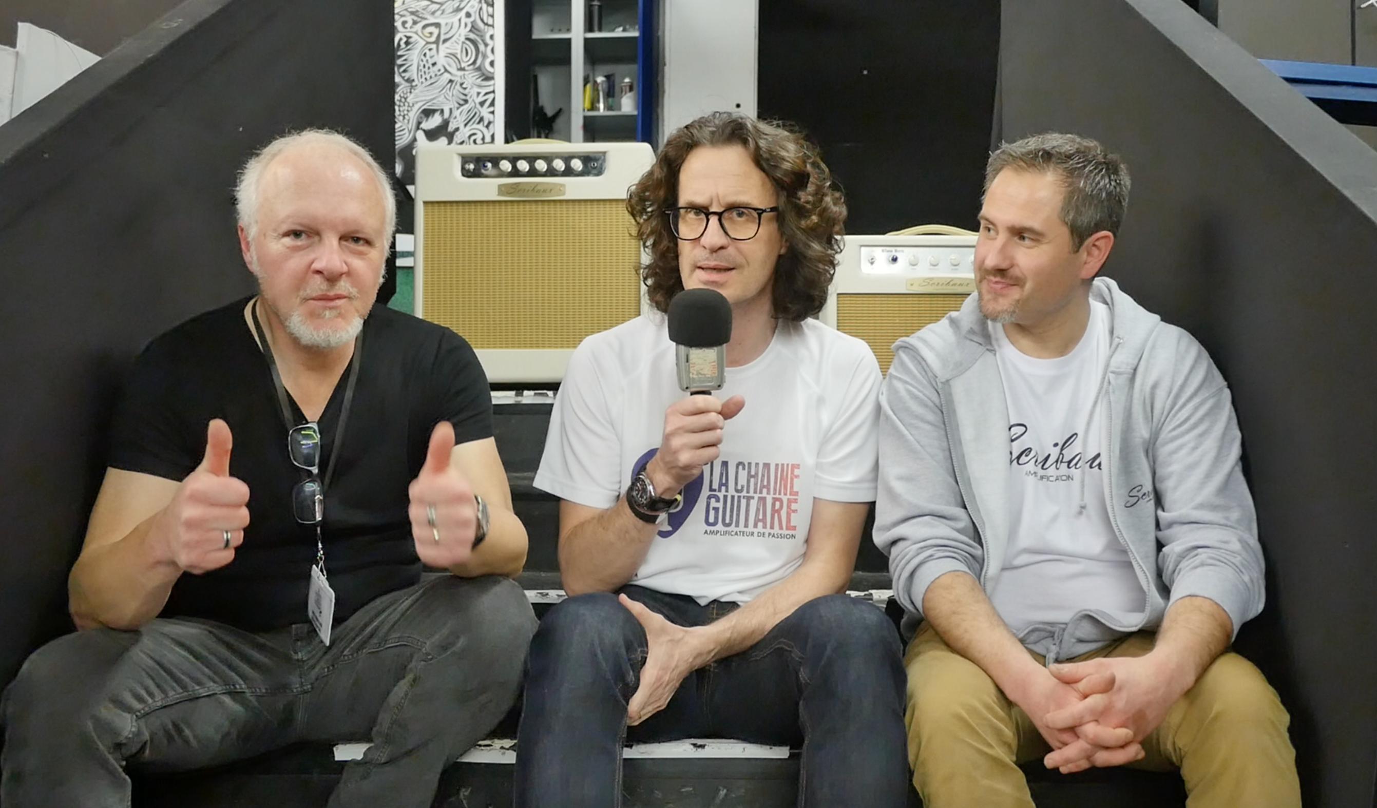 Interview Fred Chapellier et Kevin Scribaux, son fabricant d'amplis à lampes