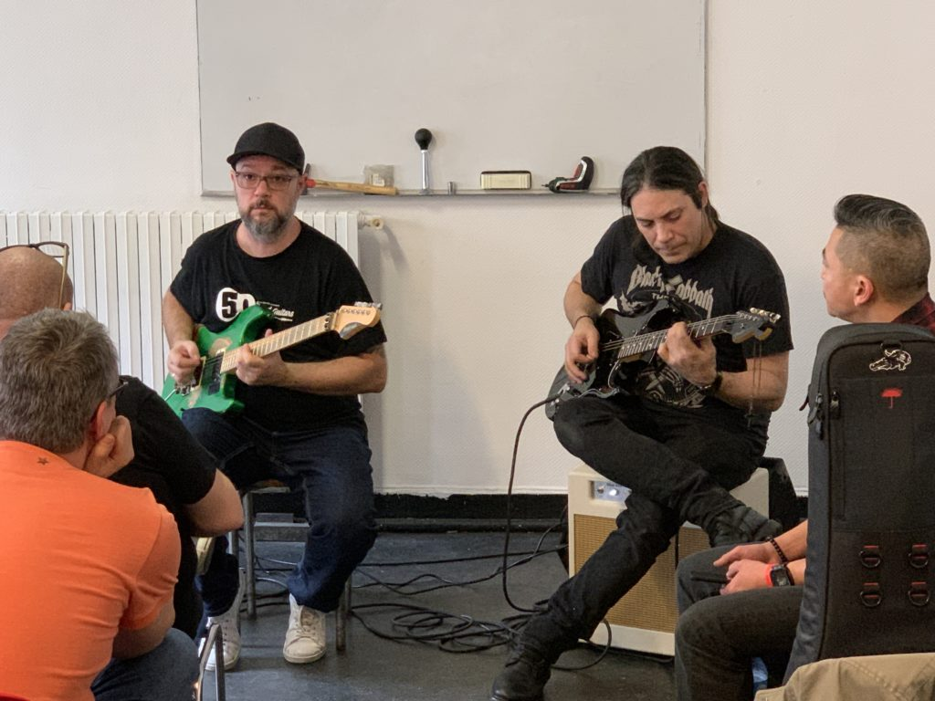 Week-end United Guitars - Reportage sur le samedi - Masterclass
