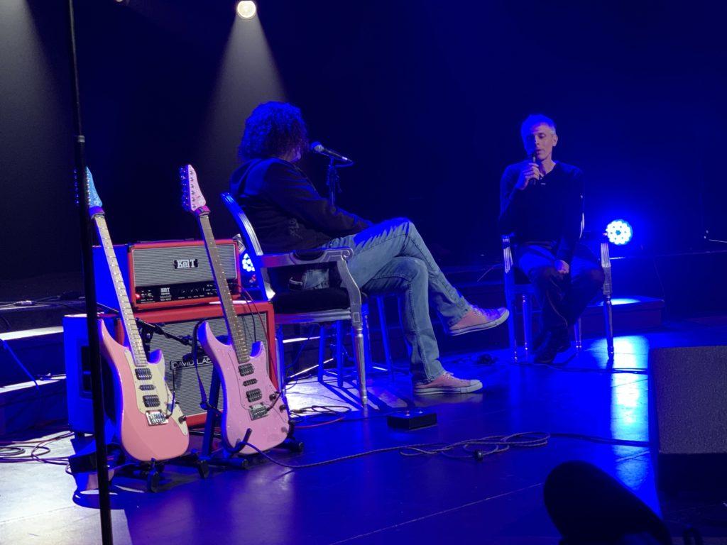 Week-end United Guitars - Reportage sur le samedi - Youri de Groote et Pascal Fillet