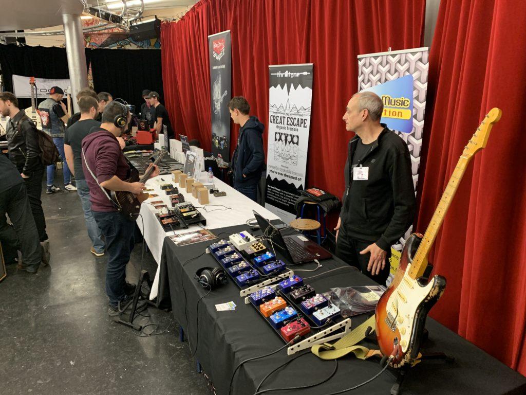 Week-end United Guitars - Reportage sur le samedi