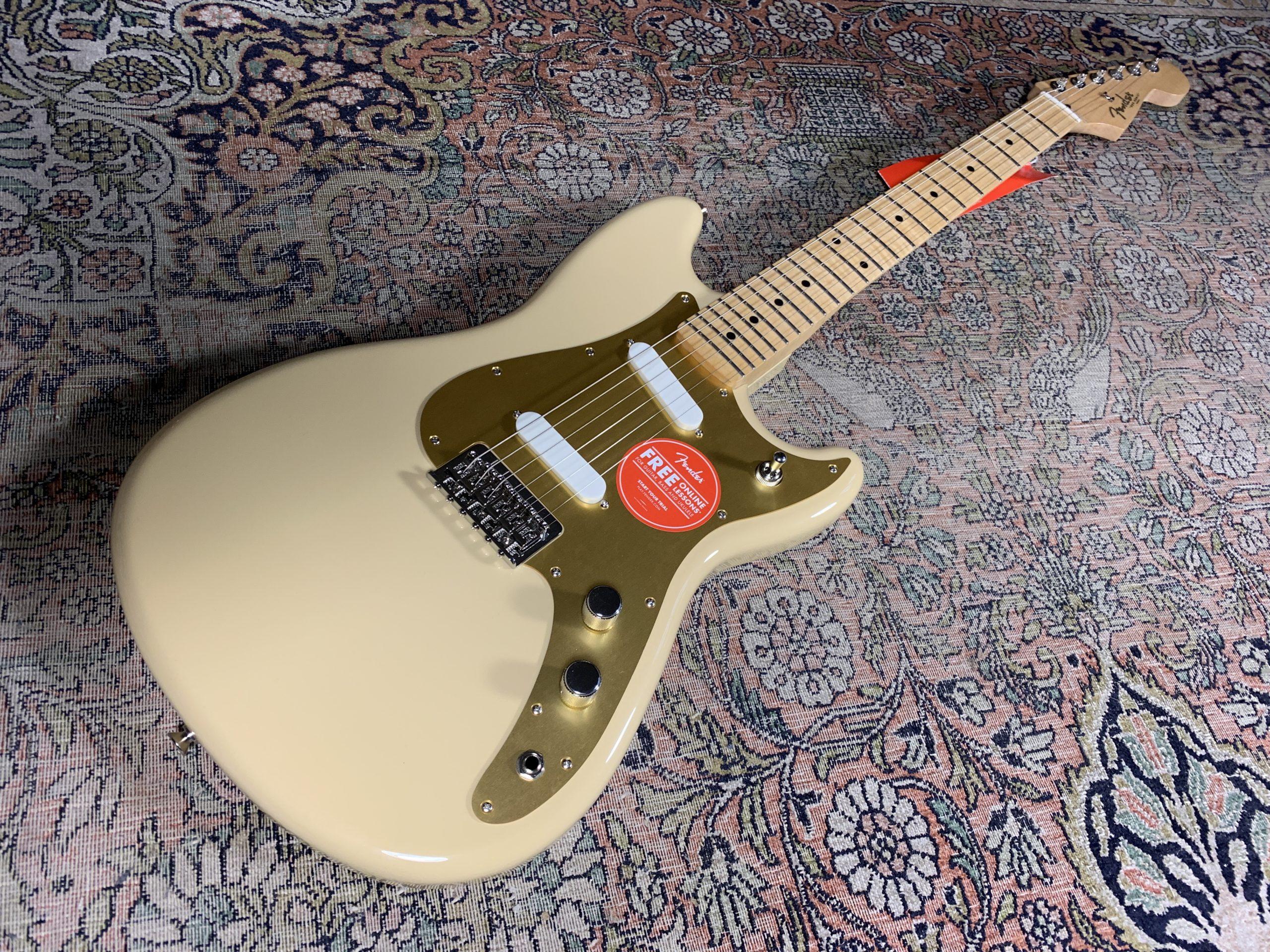 Fender Duo-Sonic, une excellente mexicaine, surtout en Desert Sand !