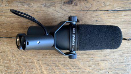 Unboxing micro Shure SM7B et comparaison SM58