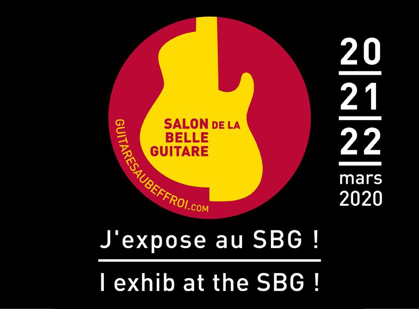 La Chaîne Guitare au salon des luthiers de Guitares au Beffroi 2020