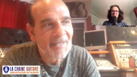 Juan Carmona guitariste Flamenco en interview confinement en direct de son studio