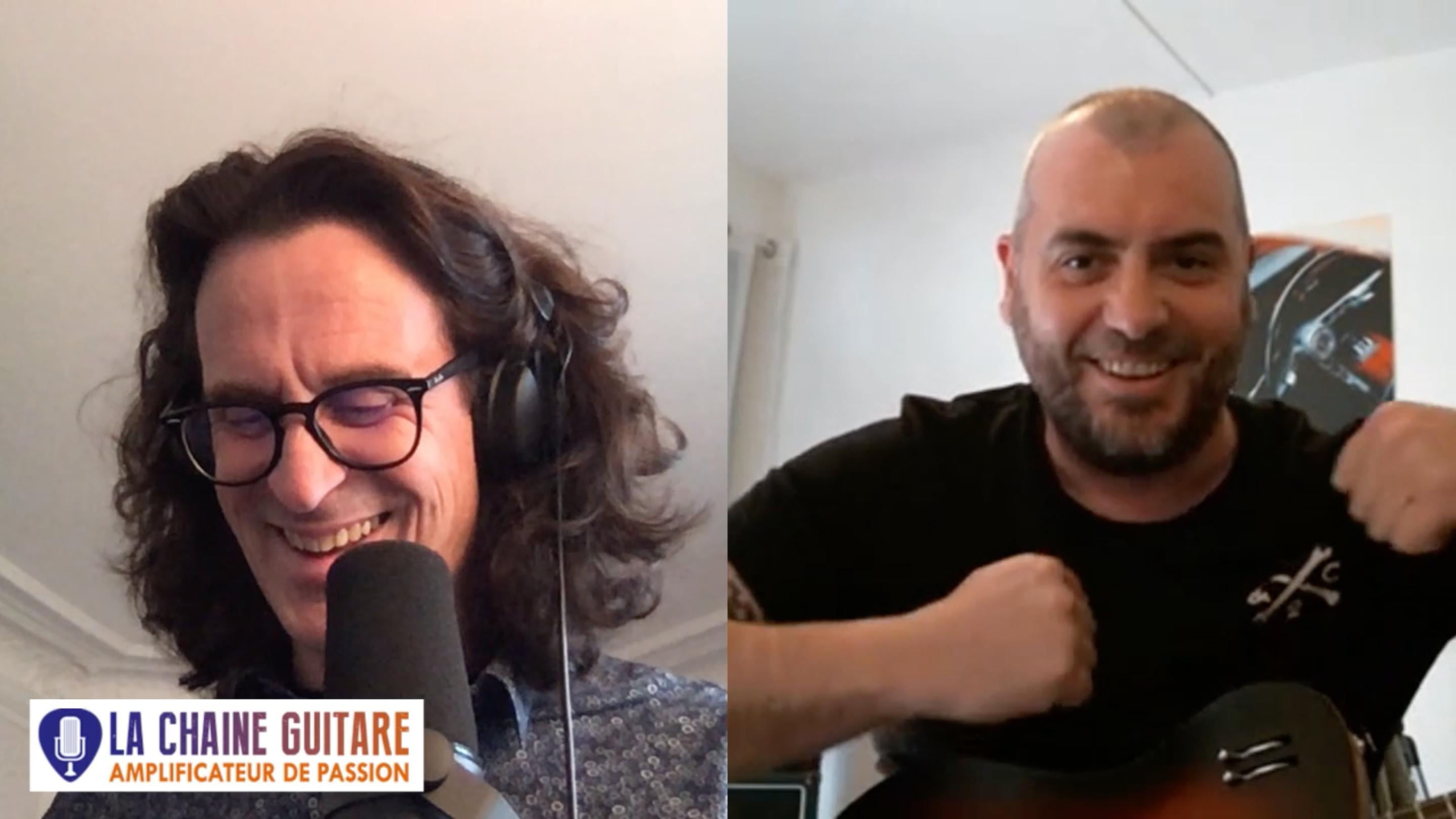 Richard Daudé guitariste et pédagogue en interview confinement
