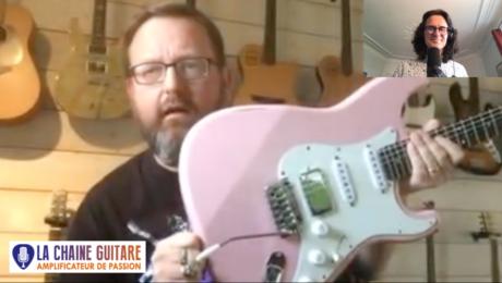 Sylvestre Etienne guitariste pro et musicien de session - Interview Confinement 24/04/20