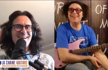 Youri de Groote, guitariste de haute volée - Interview Confinement 17/04/20