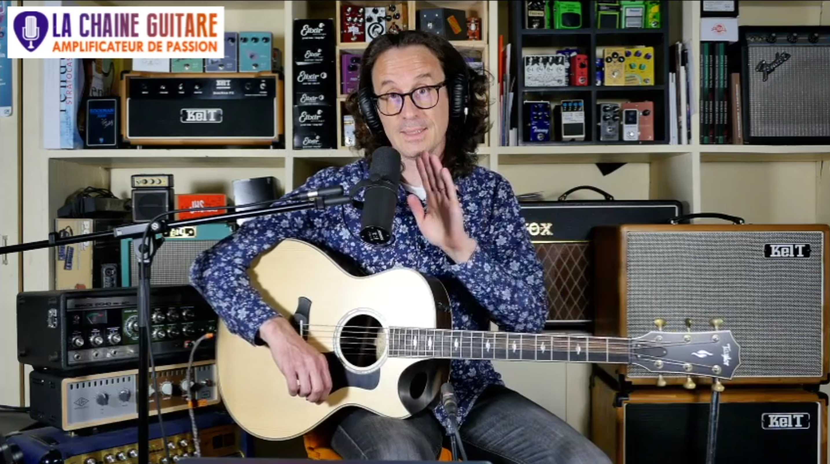 Taylor 816ce, Gus G et Firewind, Bruce Forman - Replay Live 22/05/20
