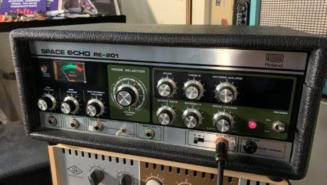 Echo à bande Roland Space Echo RE 201, le son de légende !