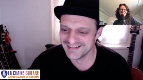 Sébastien Chouard guitariste de The Voice Kids, Sinclair et bien plus en interview confinement