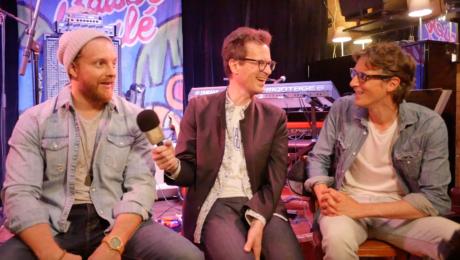 Interview Hadrien Feraud et Jim Grandcamp avant le concert en ligne au Baiser Salé