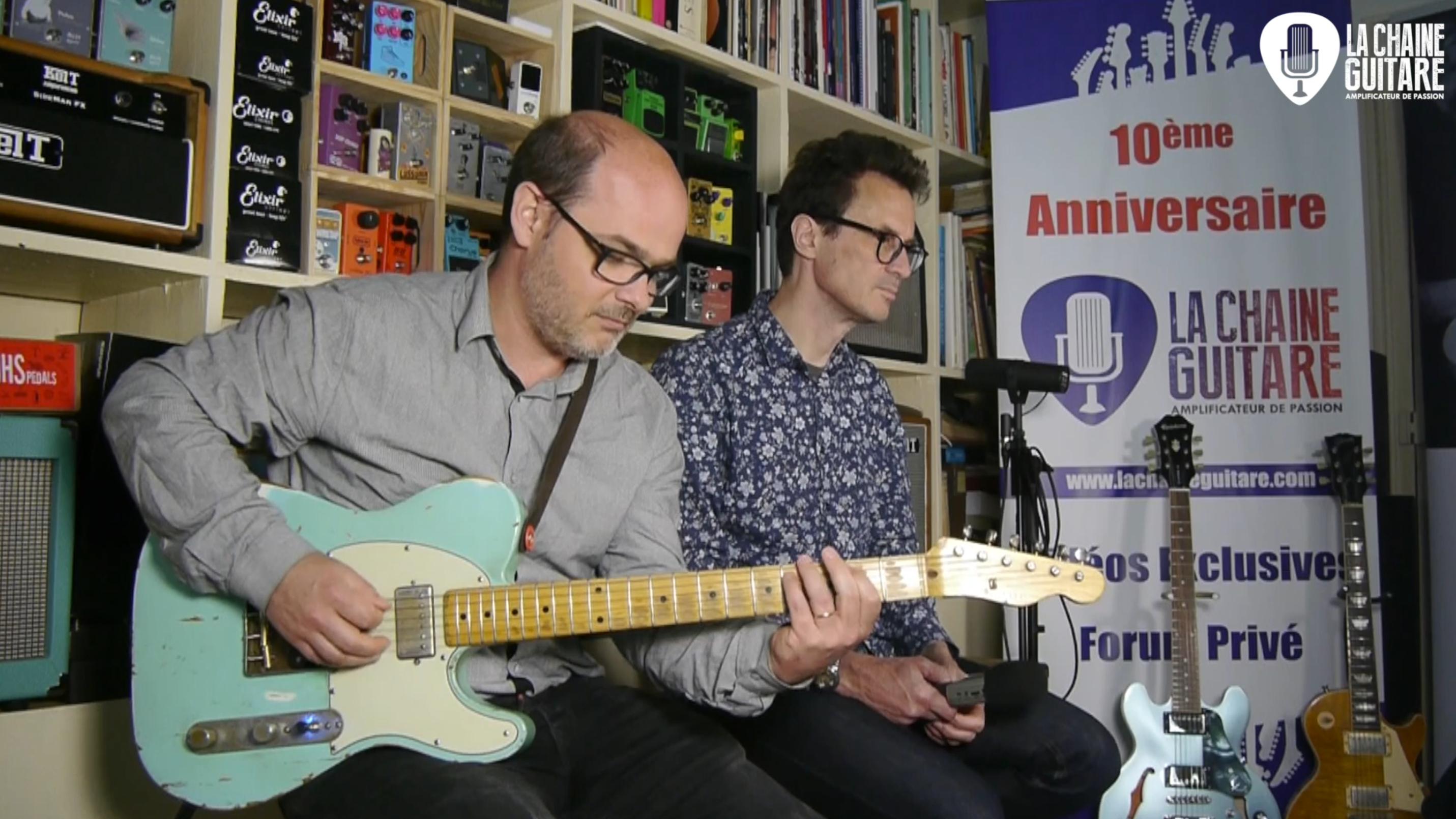 Loïc Réchard, interview guitare à la main pour parler de musique africaine