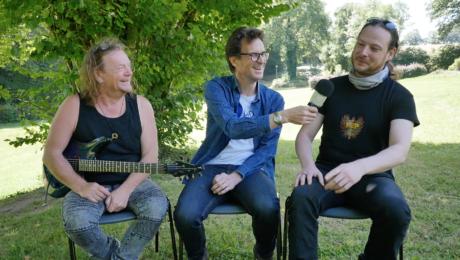 Interview de Pat O'May et du luthier Thomas Touzane - Guit-Ar-Camp 2020