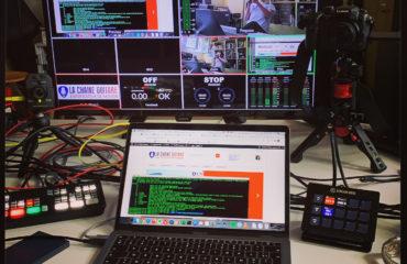 Diffusion interview en direct Skype, FaceTime ou Zoom avec un ATEM Mini Pro