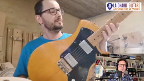 Le luthier Mikaël Springer présente sa Neocaster - Interview en direct