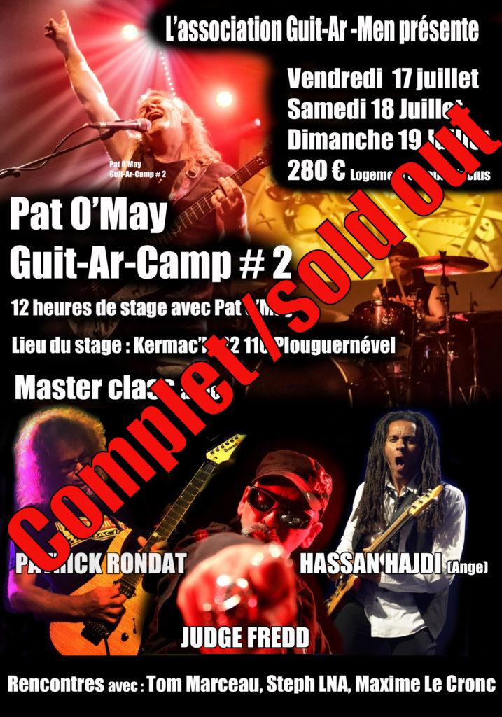 Guit Ar Camp 2020 - Patrick Rondat - Reportage du jour 1