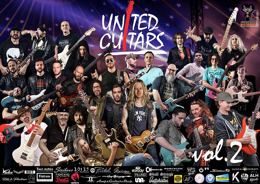 United Guitars Vol.2 Interview Ludovic Egraz pour tout savoir !