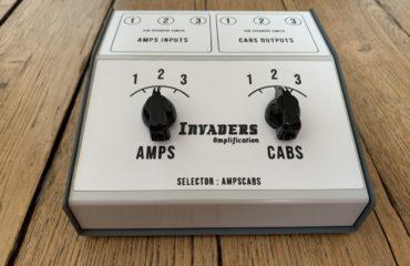 Démo express du AmpsCabs de Invaders, un sélecteur d'amplis et de baffles