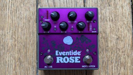 Prise en main Eventide Rose, un délai mono à modulation qui sonne terrible