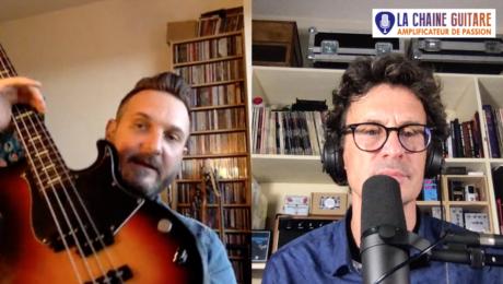 François C. Delacoudre interview en direct du bassiste