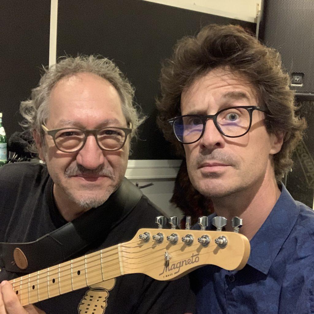 Interview Norbert Galo guitare à la main pour parler de son album All Blues