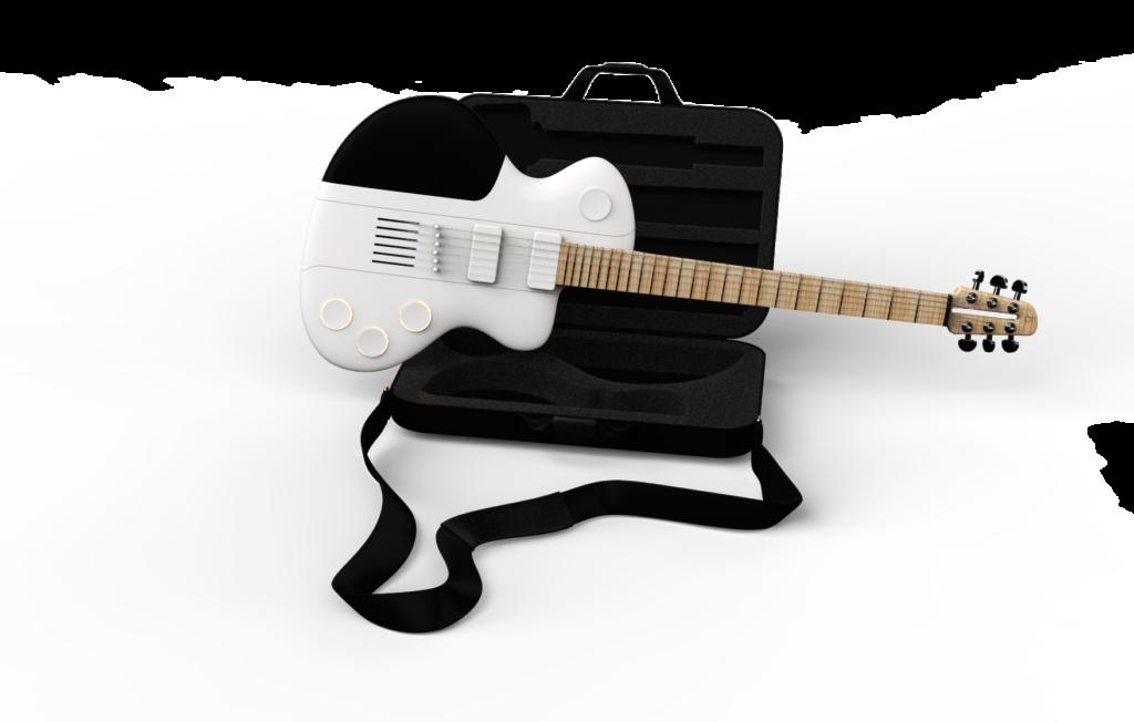 Guitare démontable de voyage Reveho, le CEO présente la Slite