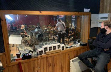 United Guitars Vol2, reportage dans le Studio 180 pendant l'enregistrement de l'album