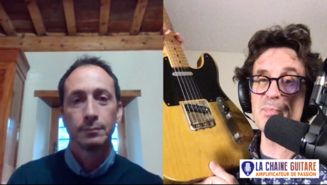 Dreamsongs Pickups, interview Alberto Arcangeli en direct d'Italie