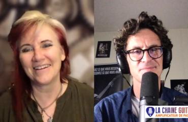 Interview Jennifer Batten au sujet de l'héritage Eddie Van Halen et de ses projets