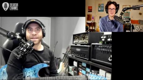 Interview Aaron Marshall, guitariste du groupe Intervals, une formation Metal Prog du Canada