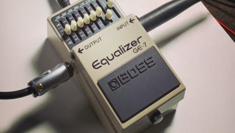 Comment utiliser un equalizer Boss GE-7 pour sculpter le son de son ampli