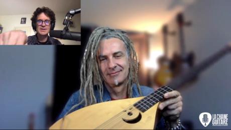 Interview Jean-Christophe Maillard qui présente son album Saz Blues