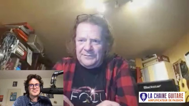 Pat O'May, interview en direct au sujet du projet