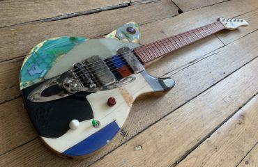 Test guitare G2002 Octopus Spalt Instruments, une oeuvre d'art qui sonne !