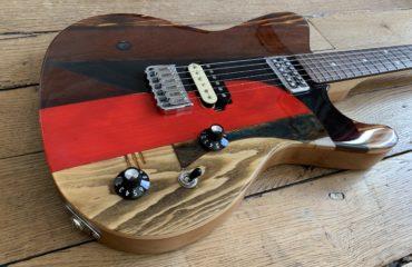 Totem séries X.2 X7 Spalt Instruments, une splendide guitare à faire du beau son !