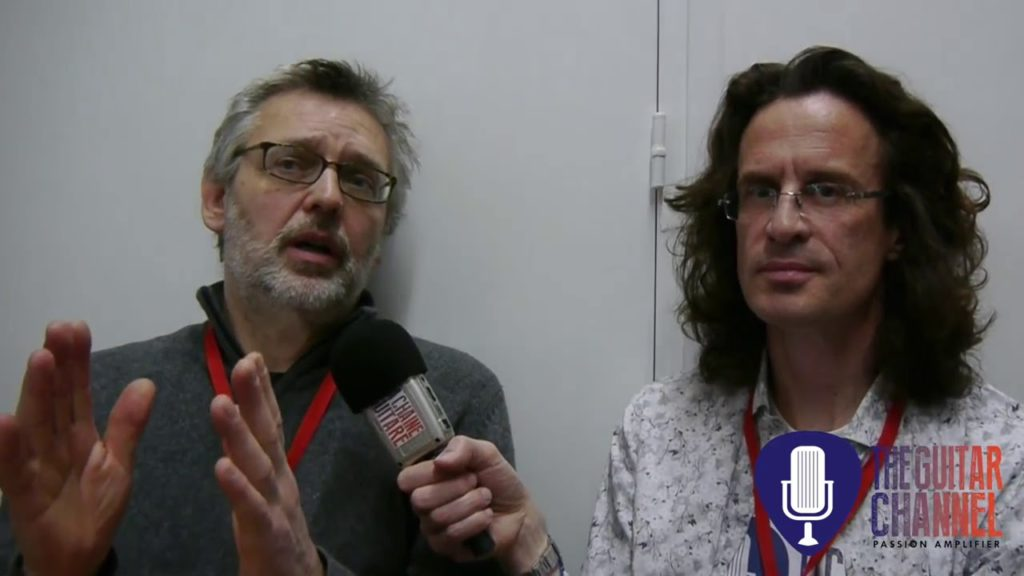 Michael Spalt en interview lors de Guitares au Beffroi 2015