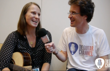 Interview luthière Christina Kobler au Holy Grail Guitar Show