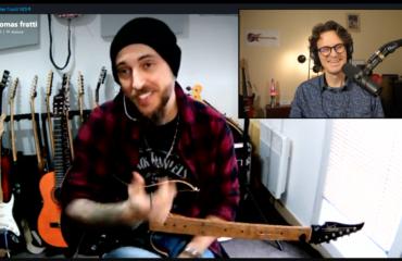 Thomas Fratti, interview guitare à la main de ce talentueux musicien