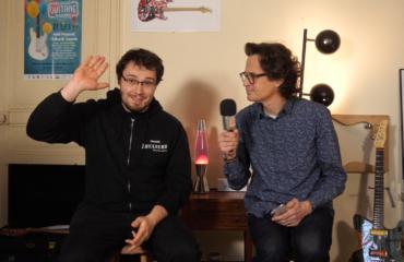 François Deschamps, interview au showroom du sorcier de Invaders Amps